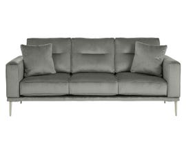 Signature Design by Ashley Macleary Series Fabric Sofa in Steel Grey 8900738