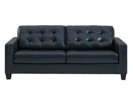 Signature Design by Ashley Altonbury Leather Sofa in Blue 8750338
