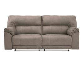 Signature Design by Ashley Cavalcade Series 2 Seat Reclining Power Sofa in Slate 7760147