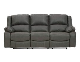 Signature Design by Ashley Calderwell Series Reclining Sofa in Gray 7710388