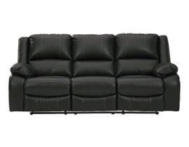 Signature Design by Ashley Calderwall Series Reclining Sofa in Black 7710188