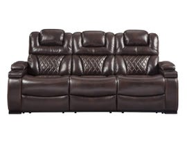 Signature Design by Ashley Power Reclining Sofa in Chocolate 7540715