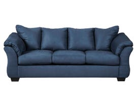 Signature Design by Ashely Darcy Series Fabric Sofa in Blue 75007-38