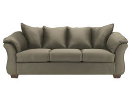 Signature Design by Ashley Darcy Fabric Sofa in Sage Green 7500338