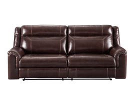 Signature Design by Ashley Power Reclining Sofa in Coffee 7170115