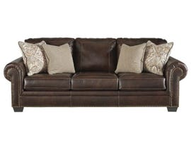 Signature Design by Ashley Roleson Series Leather Sofa in Walnut 5870238