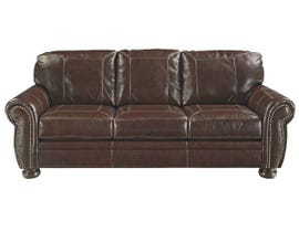 Signature Design by Ashley Leather Sofa in Coffee 5040438