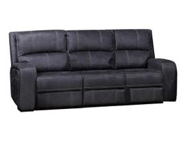 Kwality Perth Series Power Reclining Sofa with Drop Down Tray in Stone Grey Blue 8279