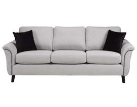 SBF Upholstery Fabric Sofa in Troy 210