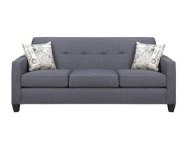 A&C Furniture Fabric Sofa in Royal Grey 3300