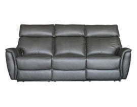 Richmond Series Motion Reclining Leather Sofa in Slate 3294