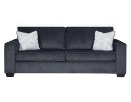 Ashley Altari Collection Fabric Sofa in Slate 87213