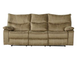 Peyto Collection Fabric Reclining Sofa in Sand PEYTO-SFB