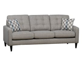SBF Upholstery Rebel Series Fabric with Sofa in Ash Grey 4326
