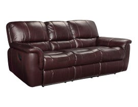 SBF Upholstery Rockwood Leather Sofa in Garda Barun Brown 4708