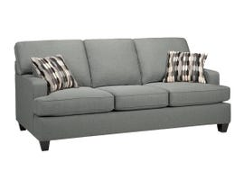 SBF Upholstery Krysta Fabric Sofa in Dove Grey 4150