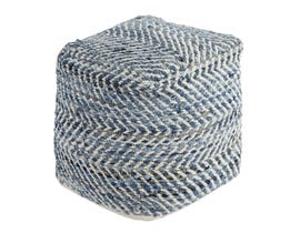 Signature Design by Ashley Chevron Series Hand Made Pouf A1000445