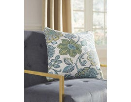 Signature Design by Ashley Pillow (Set of 4) in Blue/Cream A1000485
