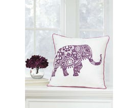 Signature Design by Ashley Pillow (Set of 4) in White/Purple A1000577