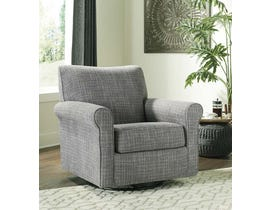 Signature Design by Ashley Renley Collection Swivel Glider Accent Chair in Ash A3000002