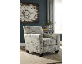 Signature Design by Ashley Nesso Collection Accent Chair in Gray/Cream A3000012