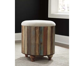 Signature Design by Ashley Oristano Collection Storage Ottoman in Multi A3000014