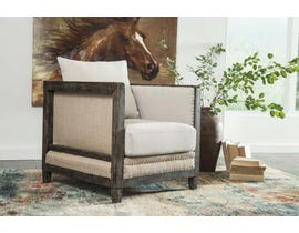 Signature Design by Ashley Copeland Collection Accent Chair in Linen A3000021