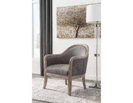 Signature Design by Ashley Engineer Collection Accent Chair in Brown A3000030