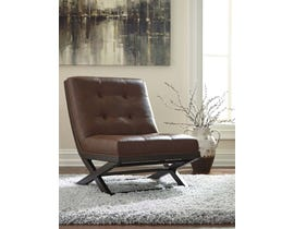 Signature Design by Ashley Sidewinder Collection Accent Chair in Brown A3000031