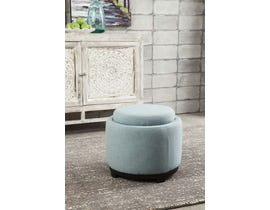 Signature Design by Ashley Menga Collection Ottoman with Storage in Mist A3000033