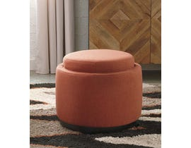 Signature Design by Ashley Menga Collection Ottoman with Storage in Adobe A3000035