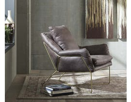 Signature Design by Ashley Crosshaven Collection Accent Chair in Dark Gray A3000040