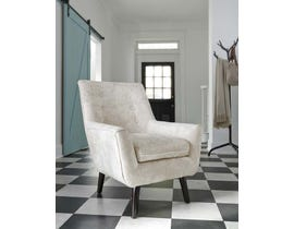 Signature Design by Ashley Zossen Collection Accent Chair in Ivory A3000045