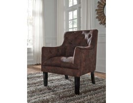 Signature Design by Ashley Drakelle Collection Accent Chair in Mahogany A3000051