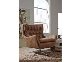 Signature Design by Ashley Velburg Collection Accent Chair in Brown A3000052