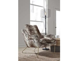 Signature Design by Ashley Wildau Collection Accent Chair in Gray A3000054