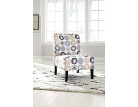 Signature Design by Ashley Triptis Collection Accent Chair Gray/Tan A3000063