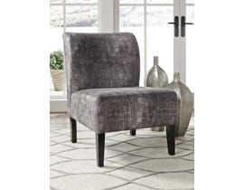 Signature Design by Ashley Triptis Collection Accent Chair in Charcoal A3000064