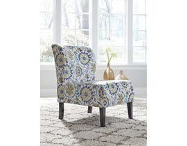 Signature Design by Ashley Triptis Collection Accent Chair in Blue/Green A3000068