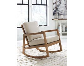 Signature Design by Ashley Novelda Collection Accent Chair in Neutral A3000081