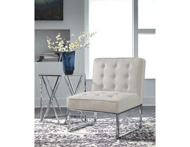 Signature Design by Ashley Cimarosse Collection Accent Chair in Ivory A3000110
