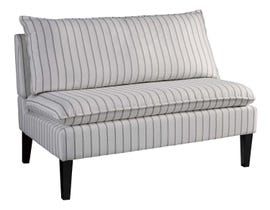 Signature Design by Ashely Arrowrock Series Accent Bench in white/grey A3000112