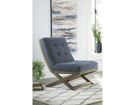 Signature Design by Ashley Sidewinder Collection Accent Chair in Blue A3000134