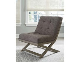 Signature Design by Ashley Sidewinder Collection Accent Chair in Taupe A3000135