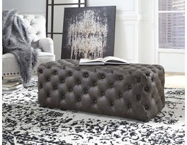 Signature Design by Ashley Lister Collection Accent Ottoman in Brown A3000171