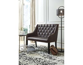 Signature Design by Ashley Carondelet Collection Accent Bench in Brown A3000173