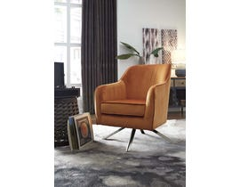 Signature Design by Ashley Hangar Collection Accent Chair in Orange A3000174