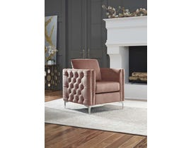 Signature Design by Ashley Lizmont Collection Accent Chair in Blush Pink A3000196