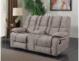 Prime Kendrick reclining Loveseat with Console Brown A529-301