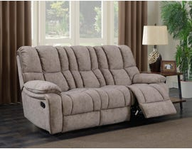 Prime Kendrick Reclining Sofa Brown A529-401